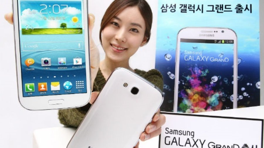 Samsung Galaxy Grand with 1.4GHz quad core CPU launched for South Korea