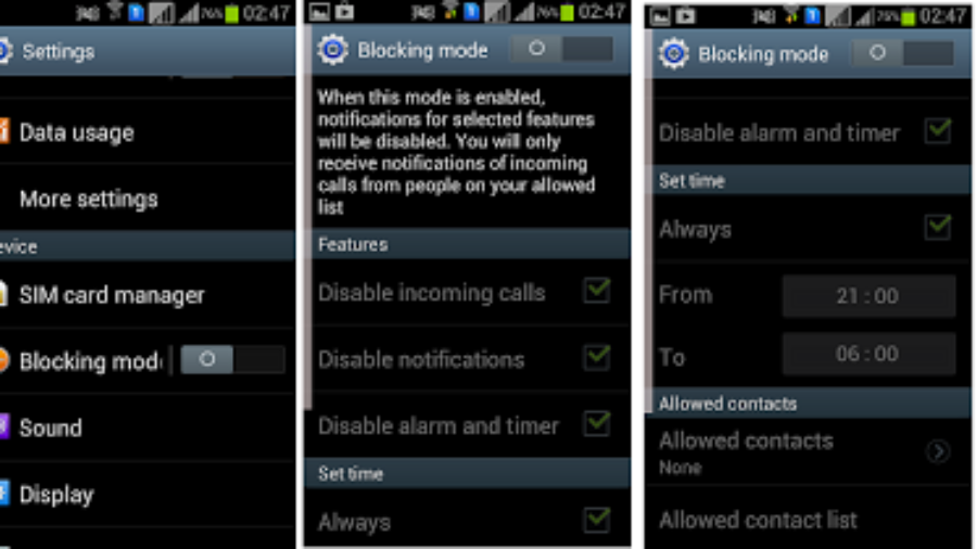 Samsung Galaxy S Duos Software Update brings Blocking Mode and Stability Improvements