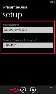 Setup Lumia WiFi Hotspot