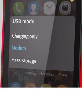 Nokia-Asha-As-Modem