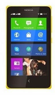 Nokia X Dual sim Android phone